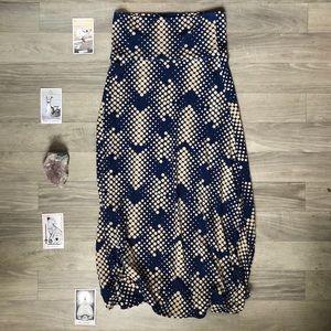 LuLaRoe | Patterned Maxi Skirt | Size: Medium